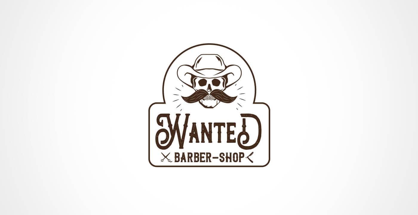 Logotipo - Wanted Barber Shop