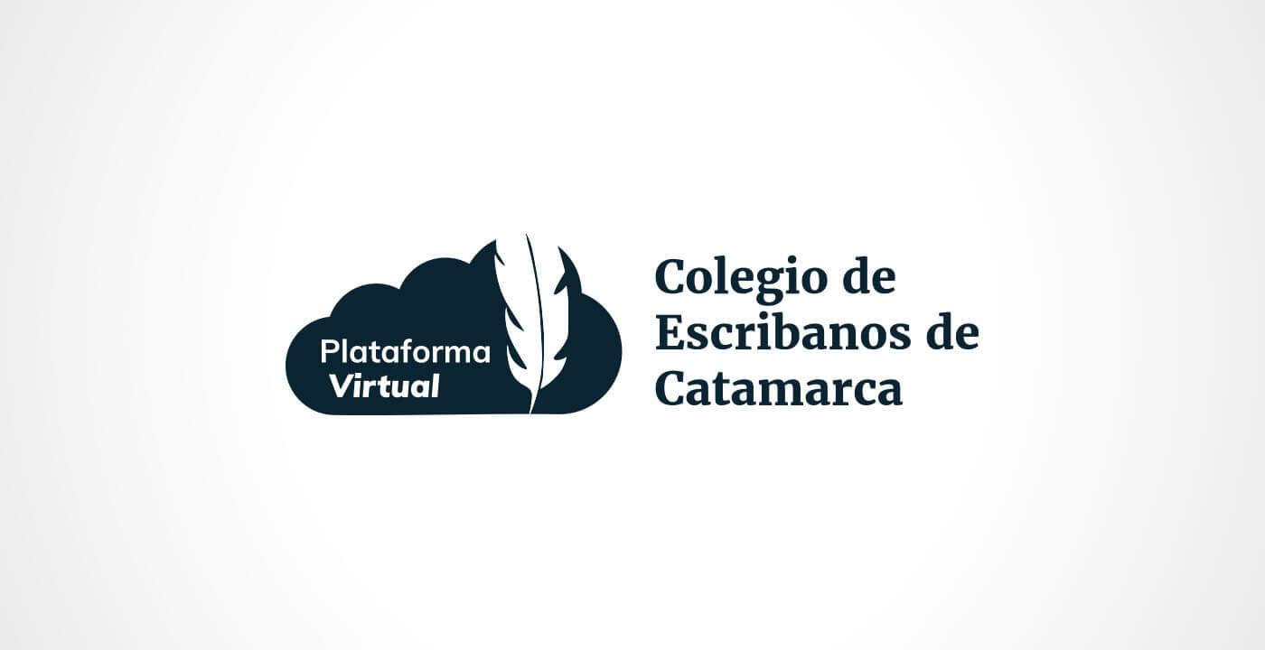 Diseño de Marca - Plataforma Virtual Colegio de Escribanos
