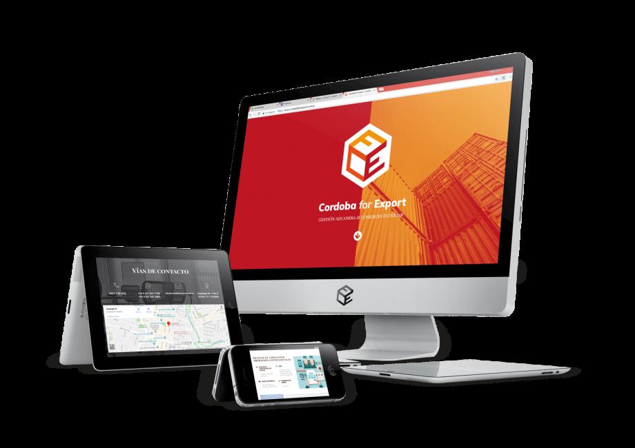 Diseño Web - Córdoba for Export